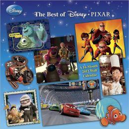 2012 Disney Pixar Wall Calendar