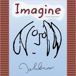 2012 Imagine?John Lennon Wall Calendar