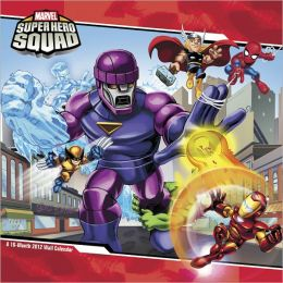 2012 Super Hero Squad Wall Calendar