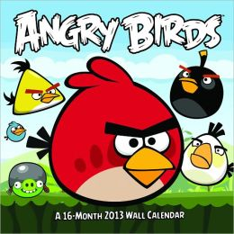 2013 Angry Birds Licensed Wall Calendar