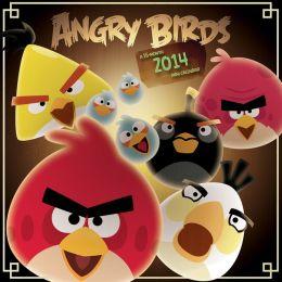 2014 Angry Birds 7x7 Mini Wall Calendar