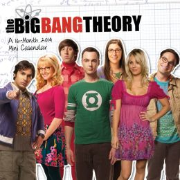 2014 The Big Bang Theory 7x7 Mini Wall Calendar