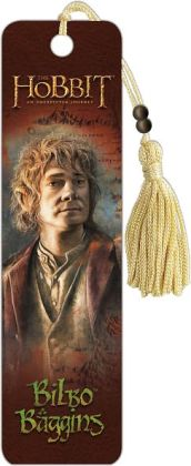 The Hobbit Bilbo Baggins Paper Bookmark