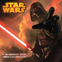 2015 Star Wars Saga Mini Wall Calendar
