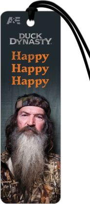 Duck Dynasty Phil Happy Paper Bookmark