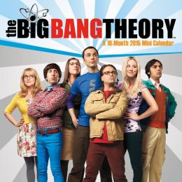 2015 The Big Bang Theory Mini Wall Calendar