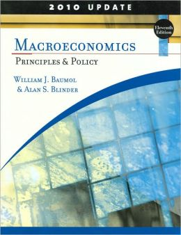 Macroeconomics: Principles and Policy, Update 2010 Edition