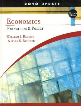 Economics: Principles and Policy, Update 2010 Edition