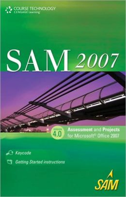 SAM 2007 Assessment and Projects 4.0 Printed Access Card