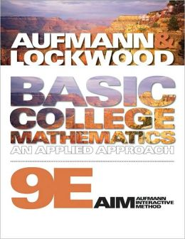 Basic College Mathematics: An Applied Approach