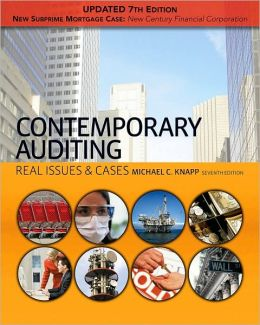 Contemporary Auditing: Real Issues & Cases