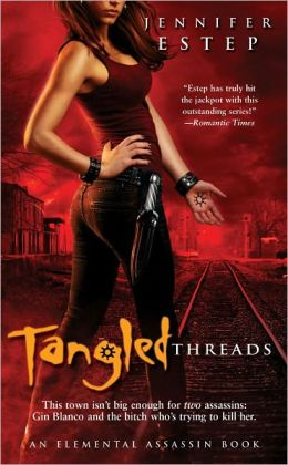 Tangled Threads (Elemental Assassin Series #4)