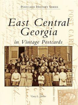 East Central Georgia in Vintage Postcards