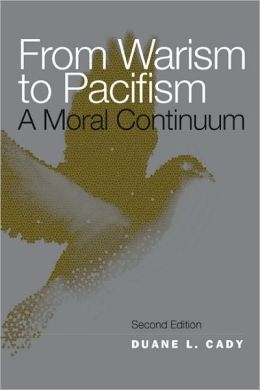 From Warism to Pacifism: A Moral Continuum