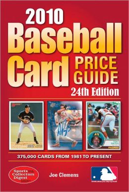 2010 Baseball Card Price Guide