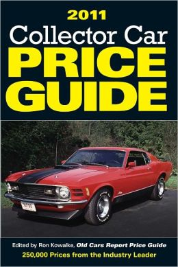 2011 Collector Car Price Guide (PagePerfect NOOK Book)