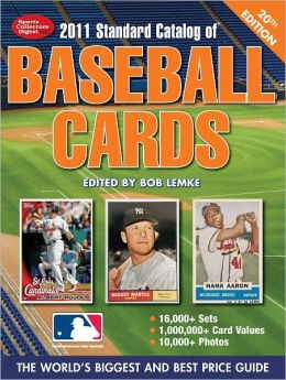 2011 Standard Catalog Of Baseball Cards (PagePerfect NOOK Book)