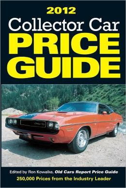2012 Collector Car Price Guide (PagePerfect NOOK Book)