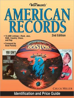 Warman's American Records (PagePerfect NOOK Book)