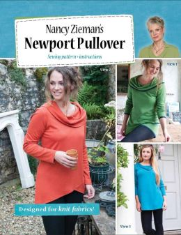 Nancy Zieman Patterns - Newport Pullover