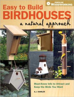 Easy to Build Birdhouses - A Natural Approach: Must Know Info to Attract and Keep the Birds You Want (PagePerfect NOOK Book)