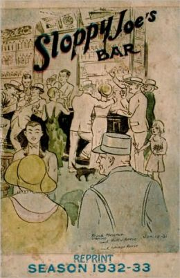 Sloppy Joe's Bar Reprint Season 1932 - 1933
