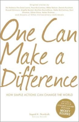 One Can Make a Difference: How Simple Actions Can Change the World