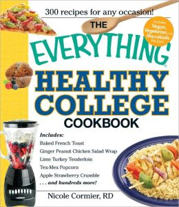 The Everything Healthy College Cookbook (PagePerfect NOOK Book)