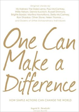 One Can Make a Difference: How Simple Actions Can Change the World (PagePerfect NOOK Book)