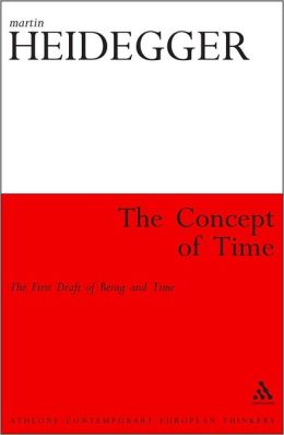 Concept of Time: The First Draft of Being and Time