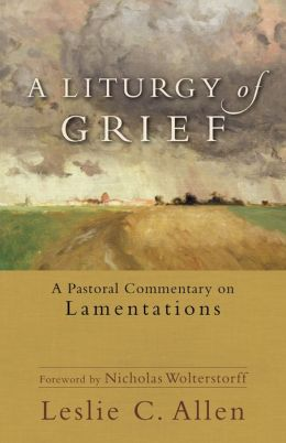 A Liturgy of Grief: A Pastoral Commentary on Lamentations