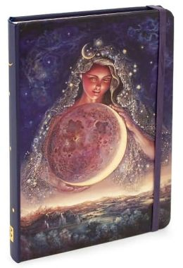 Moon Goddess Bound Lined Journal 5 X 7