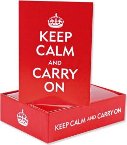 Keep Calm and Carry On Note Cards Set of 14