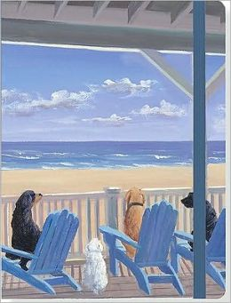 Dogs on Deck Chairs Journal 6 x 8