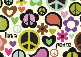 Peace Out Note Card Set of 14