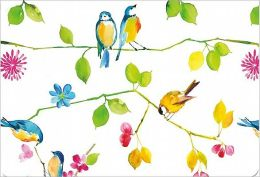 Watercolor Birds Note Card Set of 14