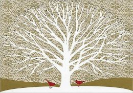 TREE OF LIFE CHRISTMAS BOXED CARD