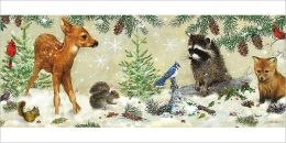 WINTER FOREST FRIENDS CHRISTMAS BOXED CARD