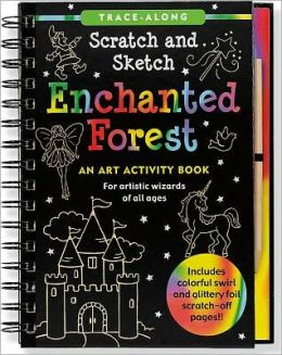 Enchanted Forest Scratch & Sketch