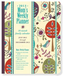 2013 Weekly Desk Mom's Folk Art Birds Engagement Calendar