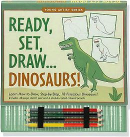 Ready, Set, Draw... Dinosaurs! (How to Draw)