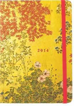 2014 Weekly Planner 5x7 Japanese Screen Bound Engagement Calendar