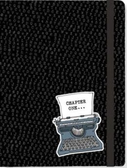 Chapter One Black Bound Lined Journal 6'' x 8''