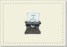 Typewriter Note Card Set of 14