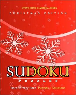 Sudoku Puzzles - Christmas Edition, Hard to Very Hard: Puzzles + Solutions