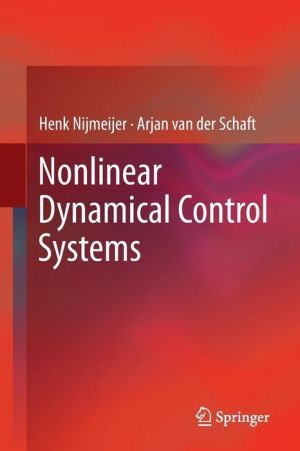 Nonlinear Dynamical Control Systems / Edition 1