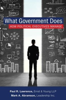 What Government Does: How Political Executives Manage Different Agencies