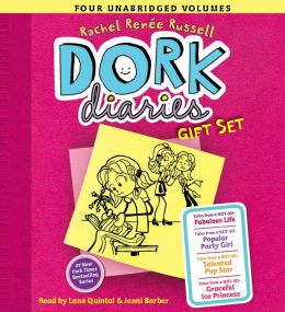 Dork Diaries Audio Gift Set: Books 1-4