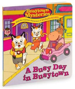 A Busy Day in Busytown (Busytown Mysteries Series)