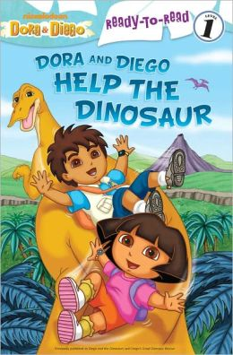 Dora and Diego Help the Dinosaur (Dora and Diego Ready-to-Read Series)